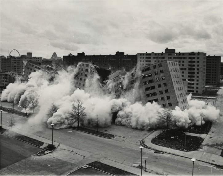 Demolición de edificios por Implosión