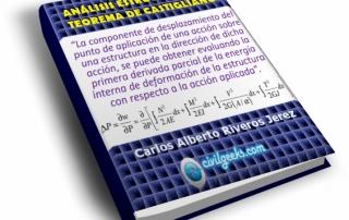 Análisis Estructural Teorema de Castigliano Carlos A. Riveros