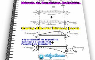 Apuntes sobre el Método de Pendiente Deflexión - Análisis Estructural