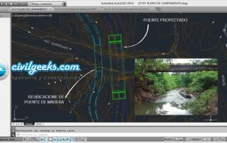 Estudios definitivos de Ingeniería para la Construcción del Puente Carrozable 2