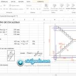 Hoja Excel para el Diseño de Escaleras