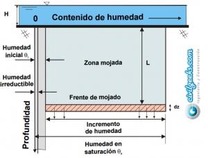 Apuntes de Infiltración y Flujo en la zona no saturada Ciclo Hidrológico