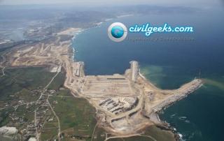 Construcción de grandes Infraestructuras portuarias a mar abierto