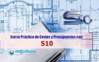 Curso Tutorial del S10 Costos y Presupuestos