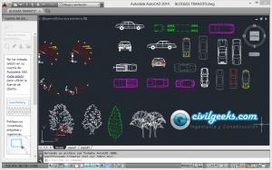 Descargar Bloques de Tránsito en AutoCAD 1