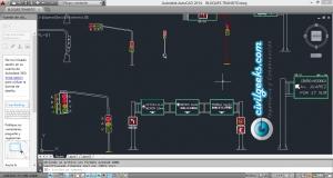 Descargar Bloques de Tránsito en AutoCAD 2