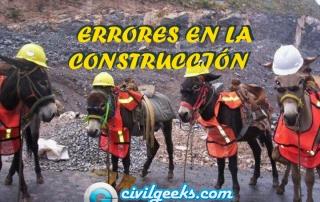 errores en la construcción 0