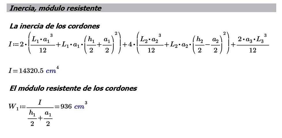 Modulo Resistente Cordones
