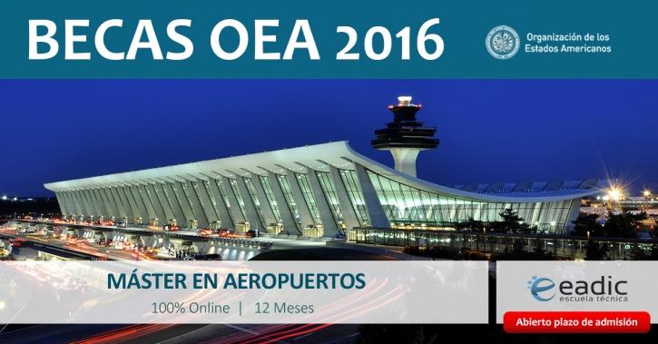 Máster en Aeropuertos: Diseño, Construcción y Mantenimiento