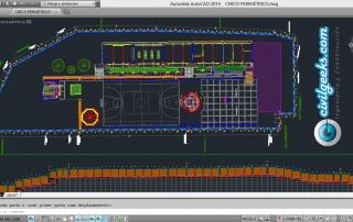 Descargar planos para construcción del Cerco perimétrico de un colegio