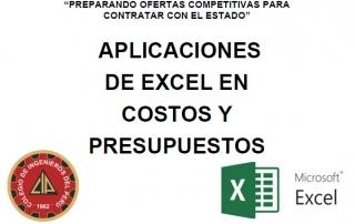 aplicaciones excel ing Jorge Blanco