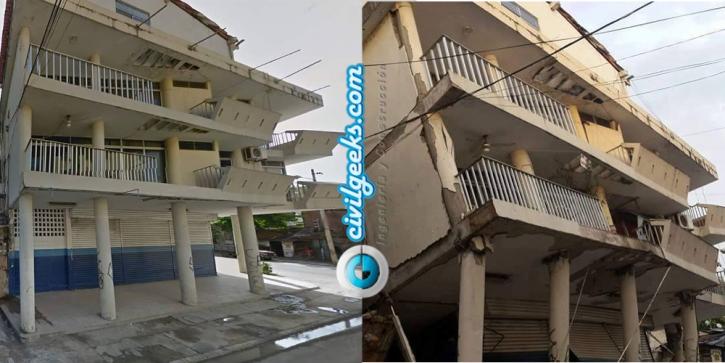 estructuras antes y después del sismo en la zona cero de Ecuador 7