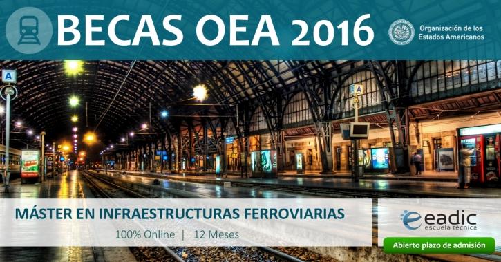 Máster en Infraestructuras Ferroviarias
