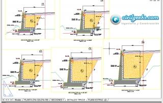 Planos estructurales para Muros de Concreto armado (Hormigón)