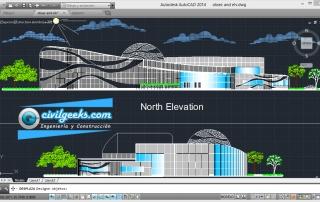Proyecto arquitectónico completo para la construcción de Laboratorio de Ciencia