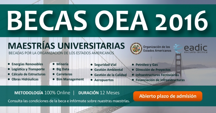 Becas OEA-EADIC