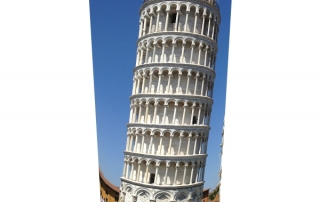 Inclinacion de la torre de pisa