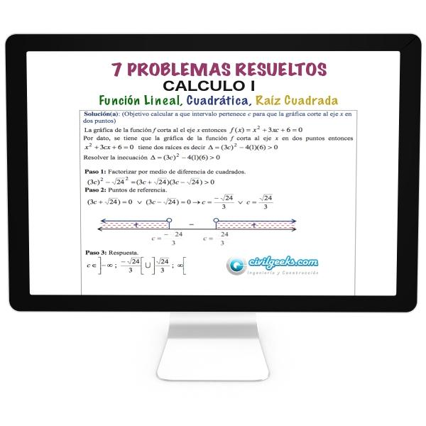 Problemas Resueltos Calculo I