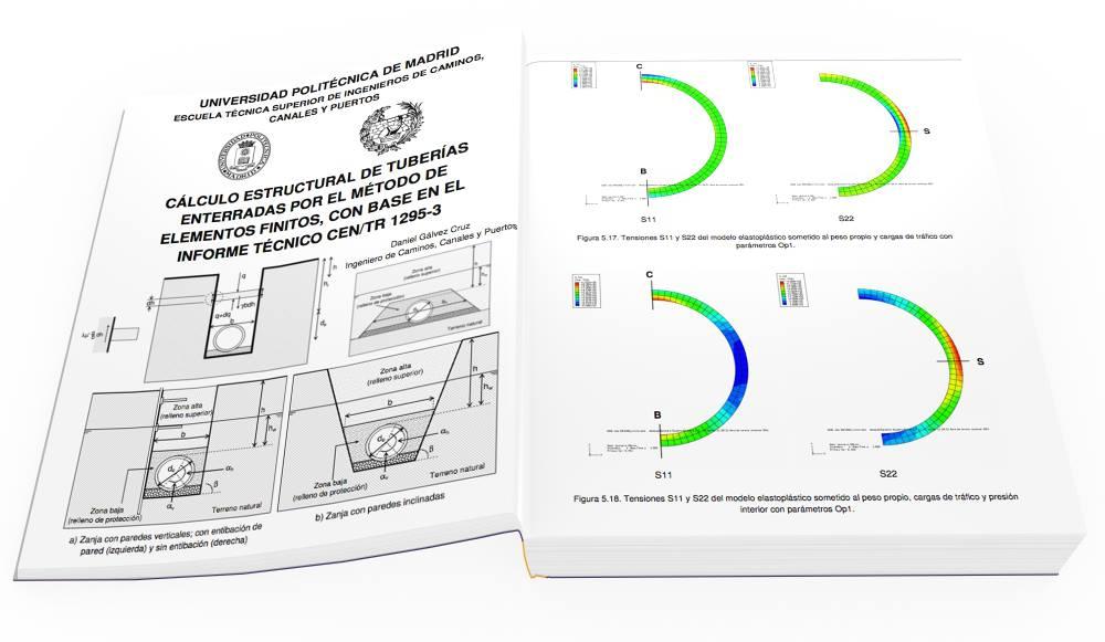 Calculo estructural de Tuberias enterradas ( Metodo de Elementos ...