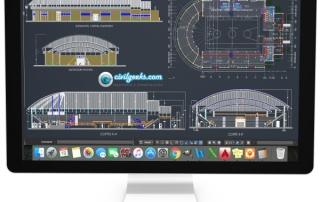 planos Construcción de un Coliseo cerrado