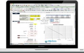 Hoja Excel para la Evaluacion en pozos de bombeo de aguas subterraneas