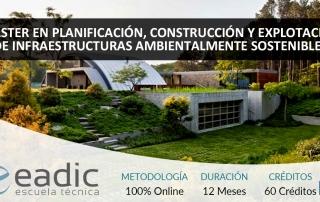 Maestría en Planificación, Construcción y Explotación de Infraestructuras Ambientalmente Sostenibles