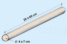 Tubo estándar de paredes delgadas