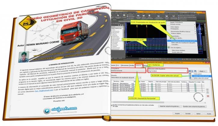 Manual civil 3D Diseño de carreteras
