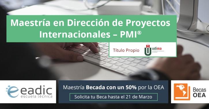 Maestría en Dirección de Proyectos Internacionales PMI®