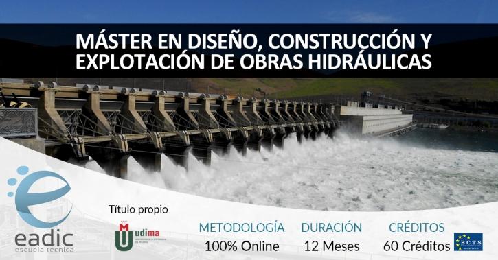 Maestría en Diseño, Construcción y Explotación de Obras Hidráulicas