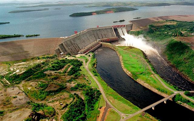 Hidroeléctrica Raúl Leoni- centrales hidroeléctricas