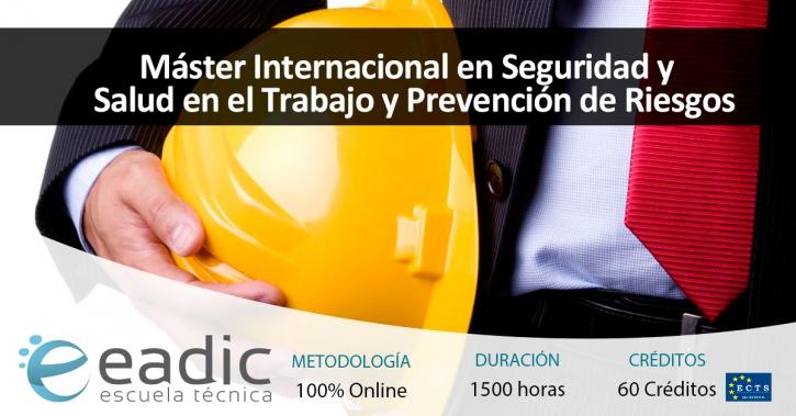 Máster Internacional en Seguridad y Salud en el Trabajo y Prevención de Riesgos