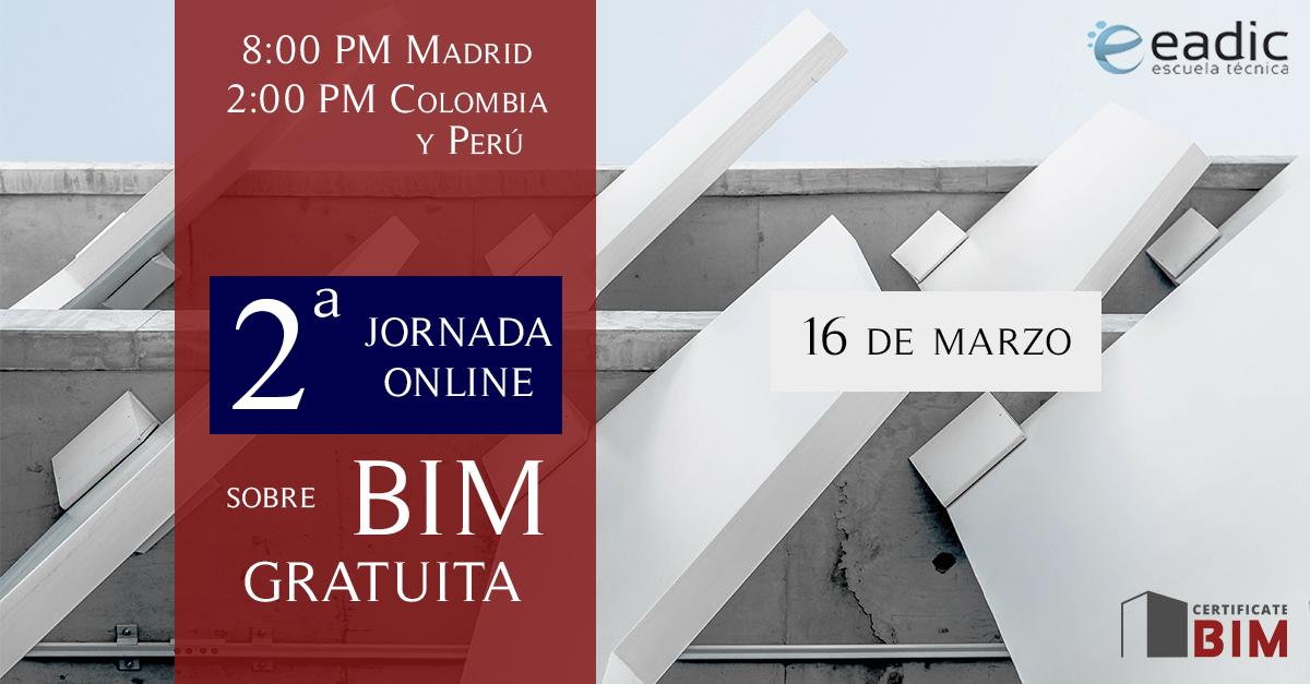II Jornada Técnica Online BIM