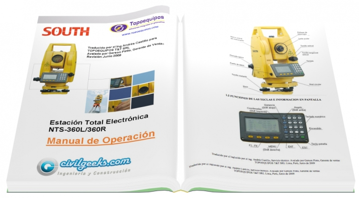 Manual de operacion de estacion total electronica