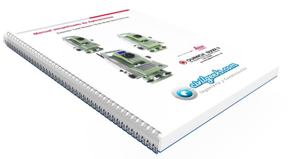 Manual para estacion total TS Flexline