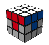 paso2 cubo de Rubik