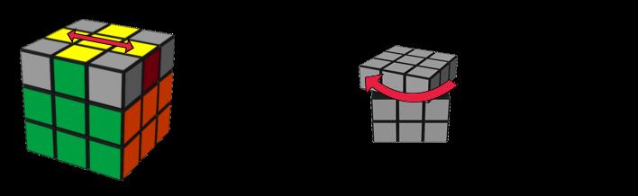 paso5caso2 cubo de Rubik