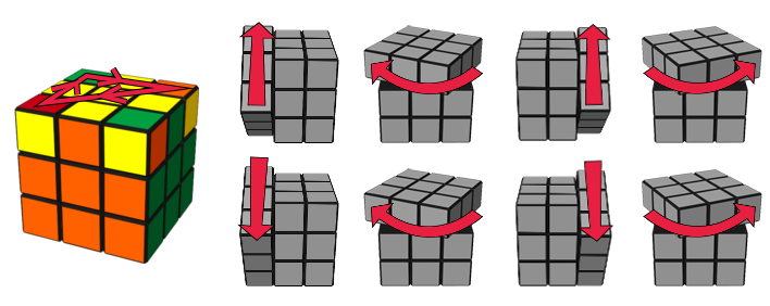 paso6caso1 cubo de Rubik