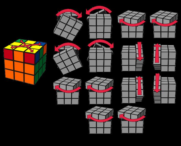 paso6caso4 cubo de Rubik