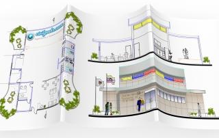 Arquitectura de un Centro Integral para el Adulto Mayor