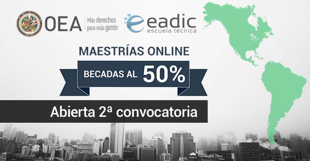 Nueva convocatoria de las Becas de EADIC y la OEA