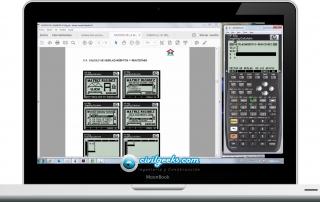 Videotutoriales para el Método matricial de rigidez con calculadoras HP 50g