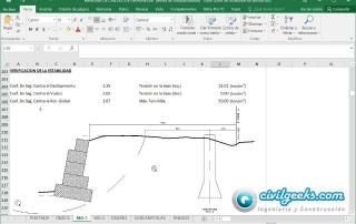 Gaviones Excel